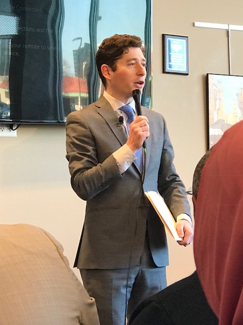 Mayor Jacob Frey