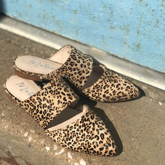 Leopard print everything. #poppyandstella