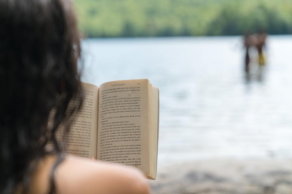 Kristin Reading Russel Pond.jpg