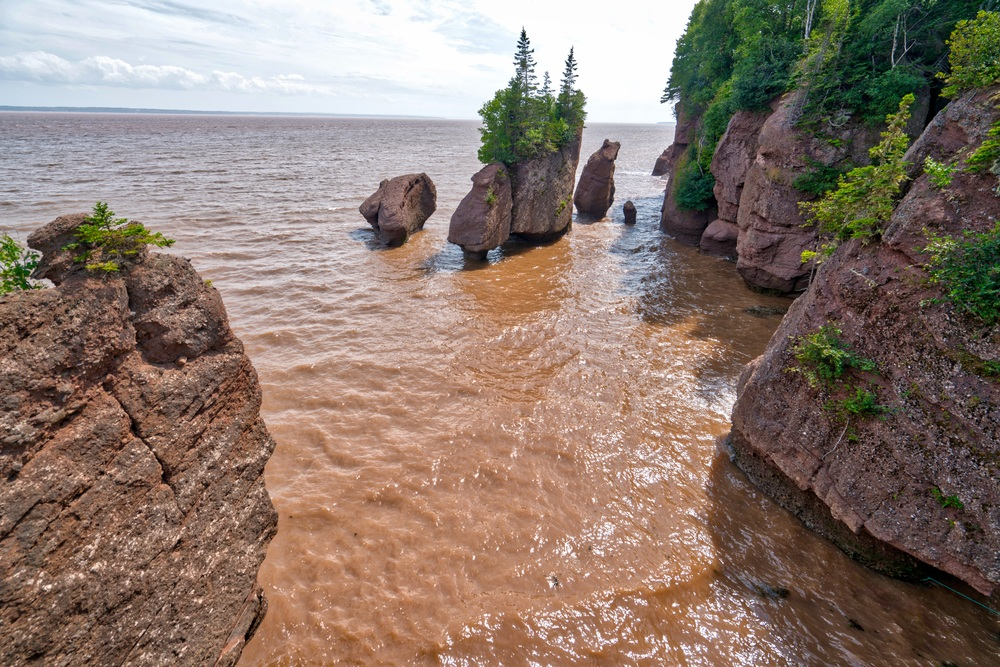 Hopewell Rocks - High Tide