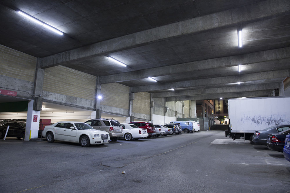 LED PARKING GARAGE