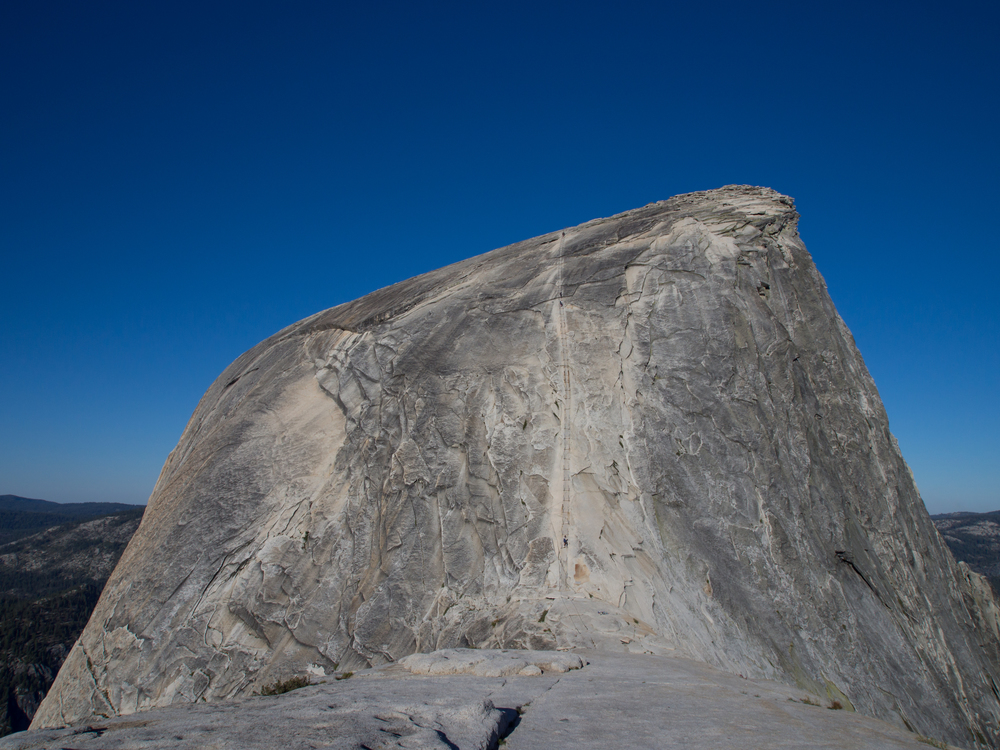View of Half Dome from the subdome.
