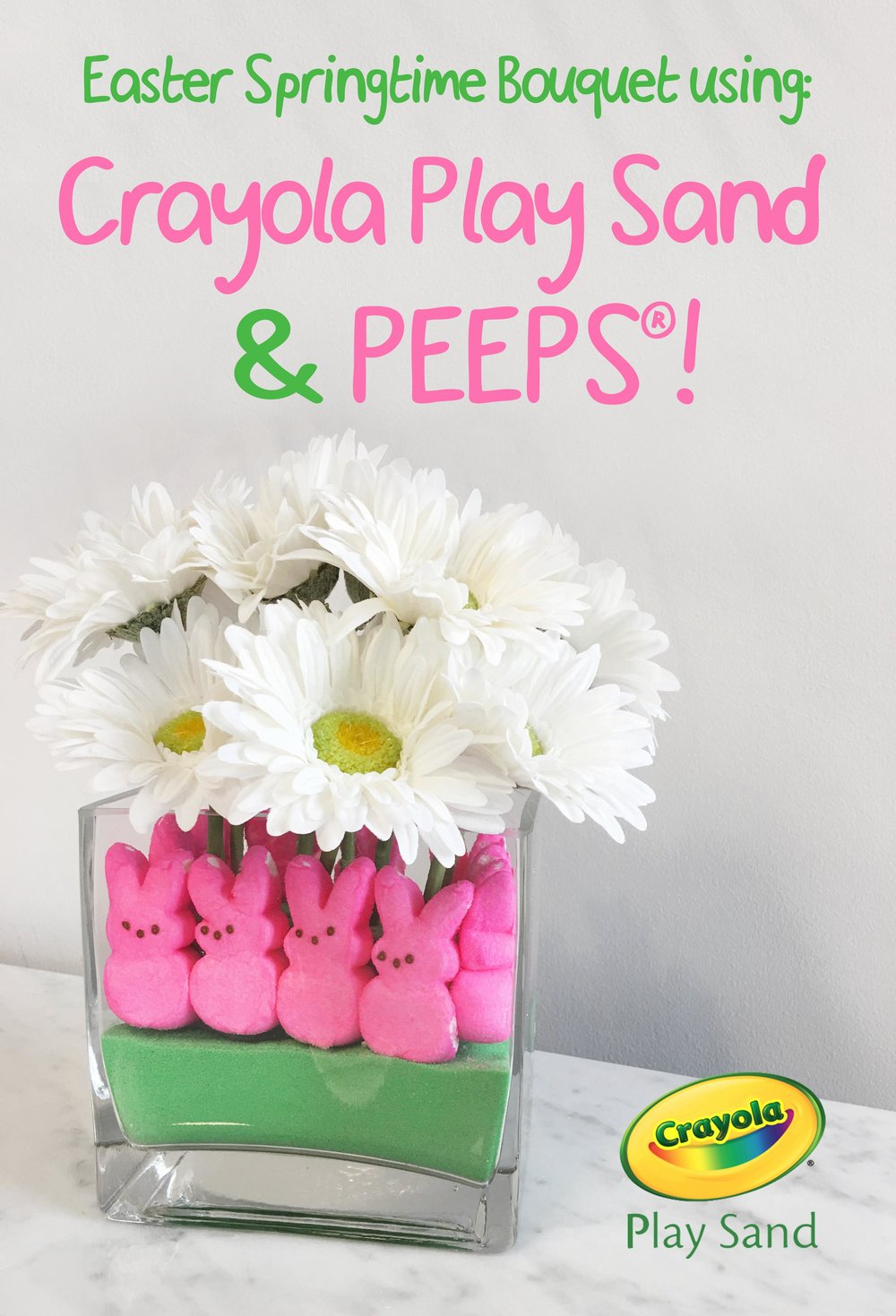 Crayola_Play_sand_Bouquet_with_Marshmallow_Peeps_cover