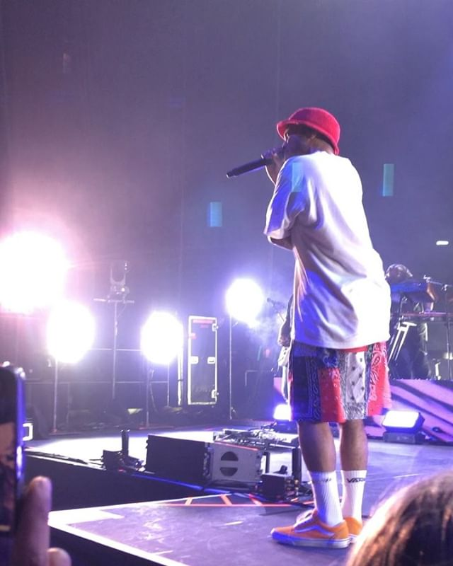 @anderson._paak gracing us with his presence last night at The Hammerstein Ballroom!