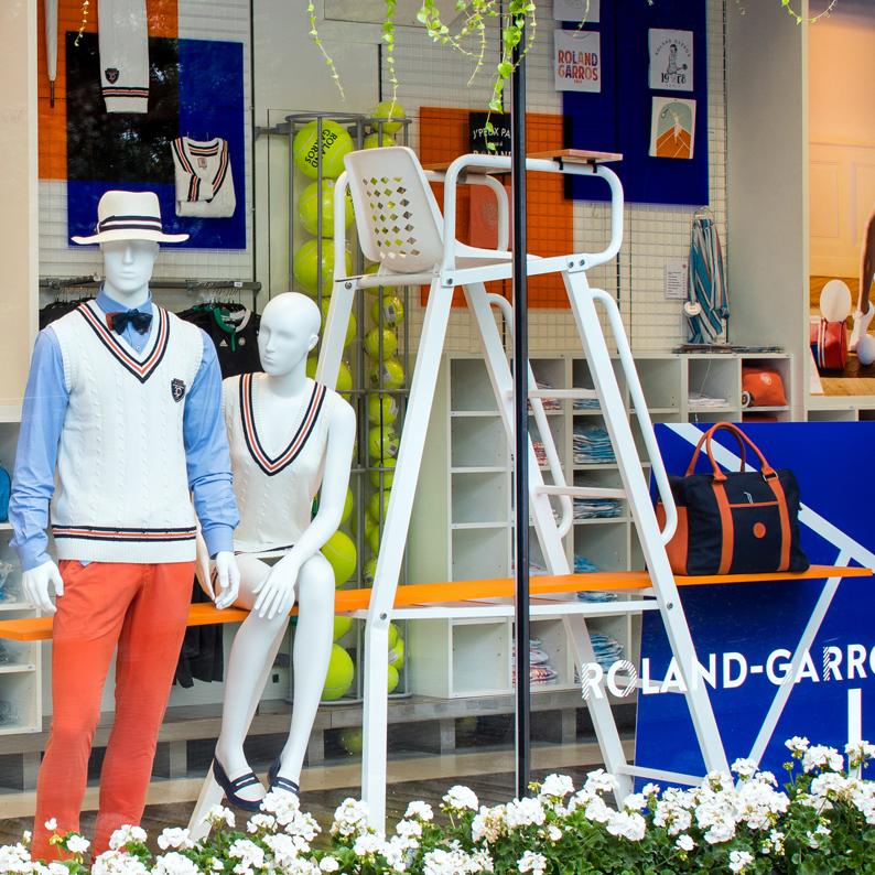 Roland-Garros Window