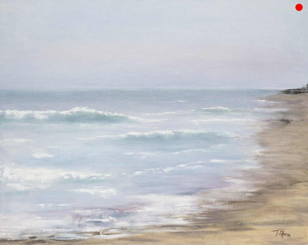 """Copy of Sea For Miles - 24"""" x 36"""" oil on gallery wrapped canvas"""
