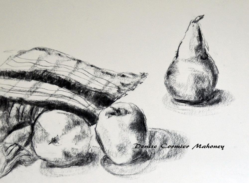 Pear Still Life (2014)