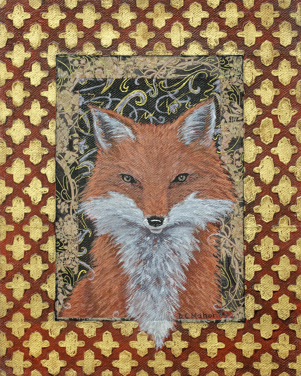 Illuminated Fox