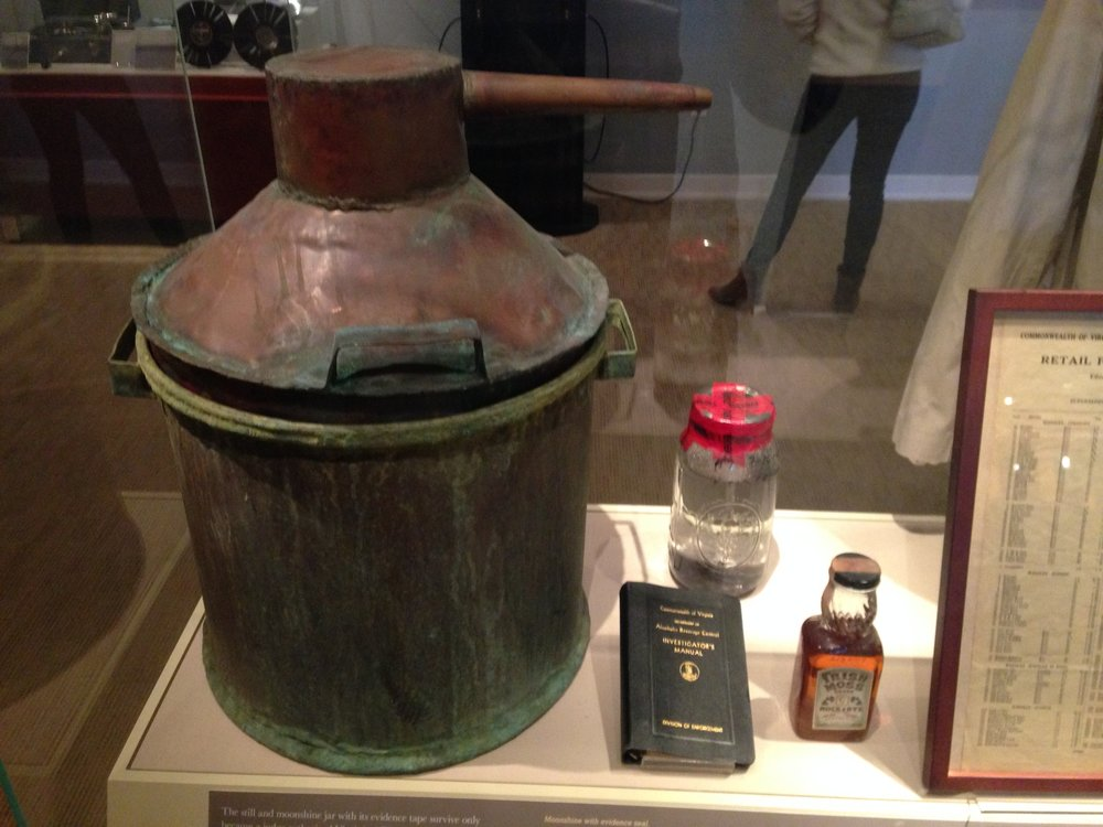 A moonshine still confiscated by ABC agents in 2011.