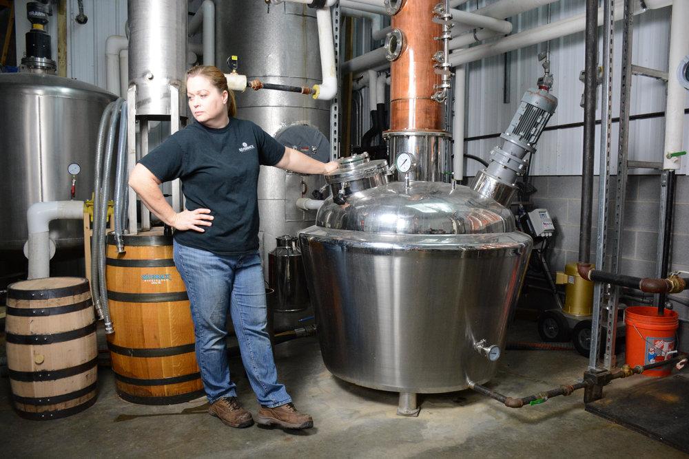 Silverback Distillery CEO Christine Riggleman.