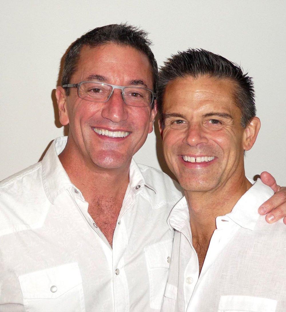 Enrique MacGregor and Mark Niermann