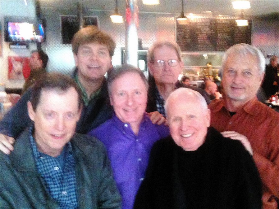 Left to Right: Mike Anglin, Robert Emery, Carl Parker, Jack Evans, George Harris, Buddy Mullino