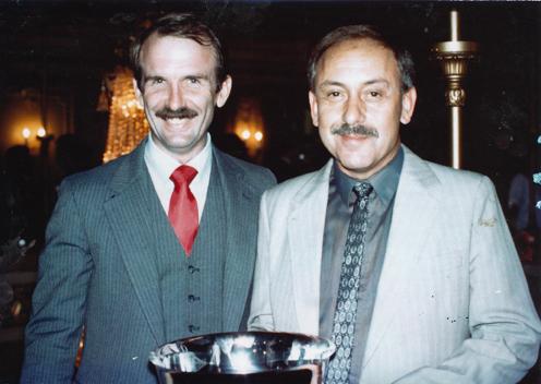 Bill Nelson and Richard Longstaff