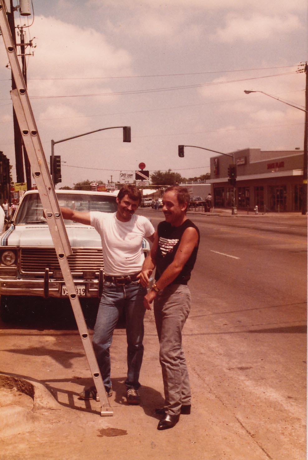 Terry Tebedo and Richard Longstaff