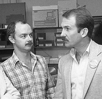 Joe Desmond with Bill Nelson
