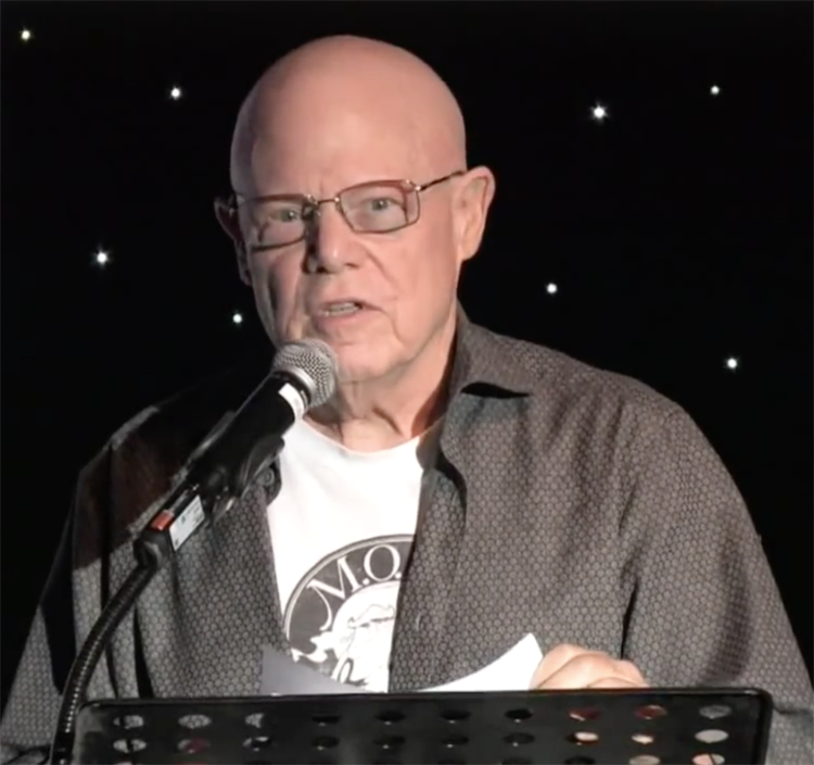 Mark Shekter speaks about his life in an address to The Dallas Way in 2015