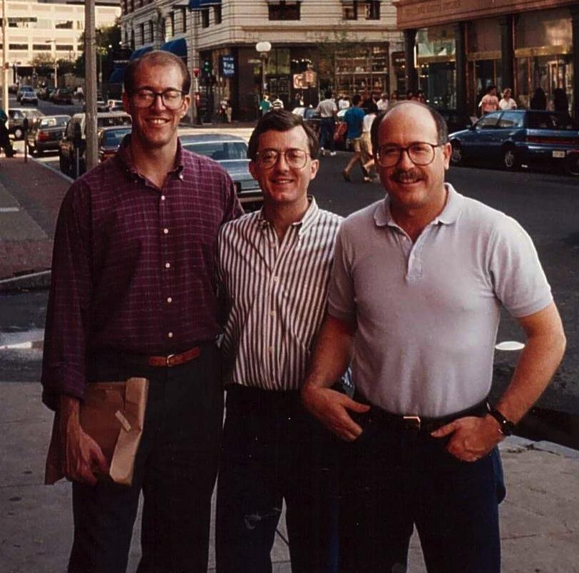 Michael Hartwig, Dick Peeples, Don Baker