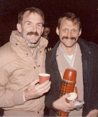 Bill Nelson & Terry Tebedo, December 1987