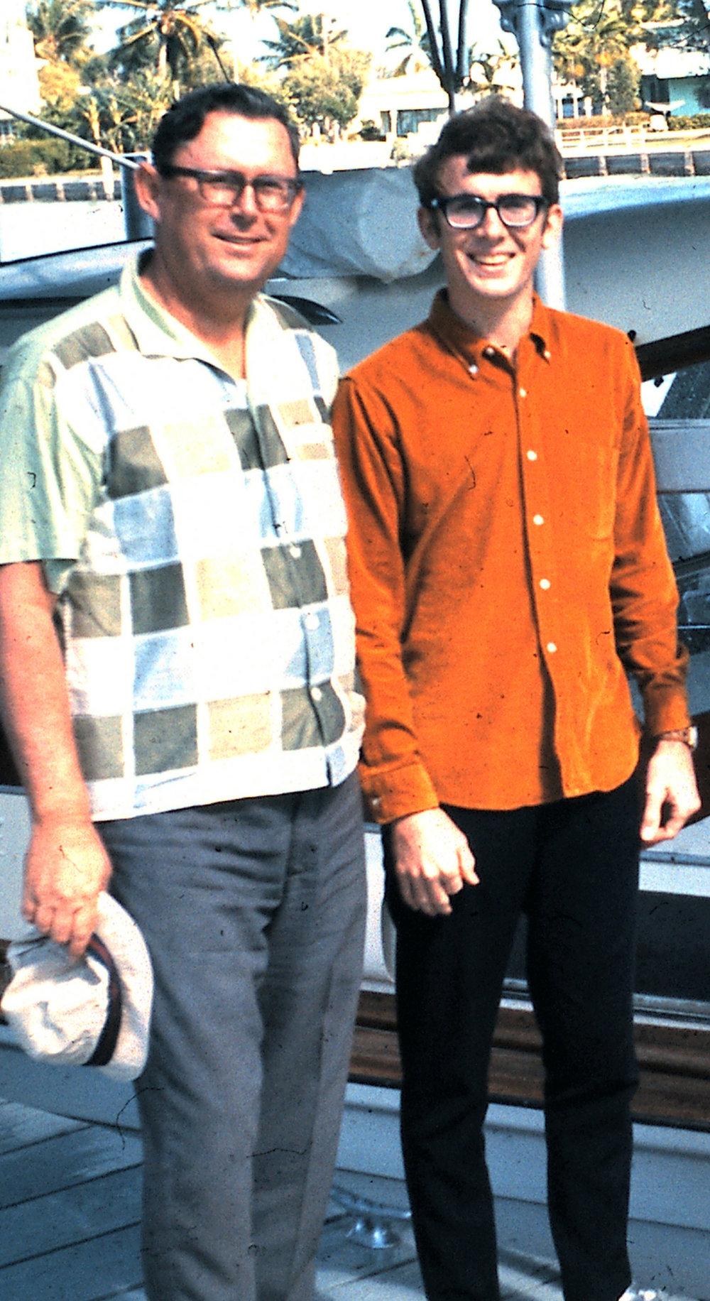Bill Nelson, Sr. &. Bill Nelson, Jr.