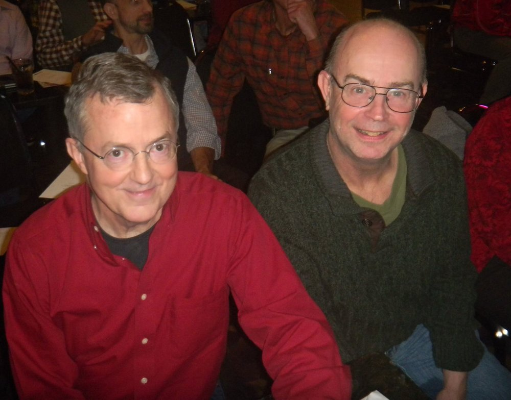 Dick Peeples (left) and Roger Kennedy (right)