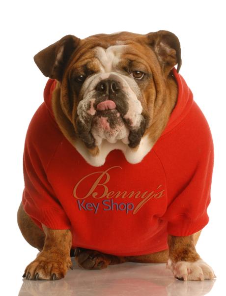 Benny the Bulldog.