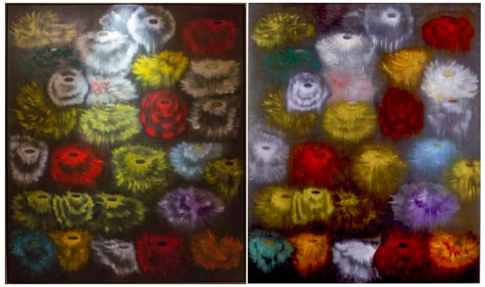 Ross Bleckner, Sea and Mirror (x2)