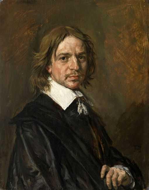 """Ce tableau """"Portrait d'homme"""" de Frans Hals, avait été authentifié comme un """"véritable chef d'oeuvre"""" de la période tardive de Hals par un conservateur du Louvre, qui avait convaincu son musée d'essayer de l'acheter."""