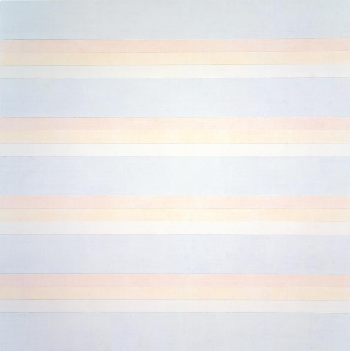 Agnès Martin, Untitled #2 (1992), acrylic and graphite on canvas