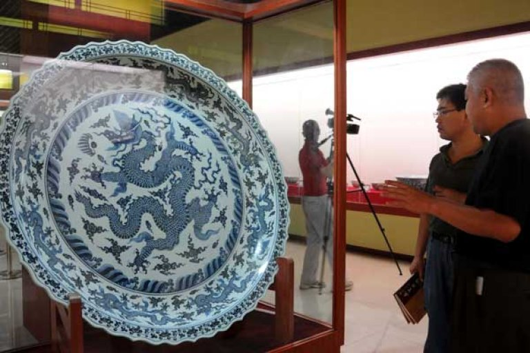 Une oeuvre du Jibaozhai Museum contraint à la fermeture en 2013 | Photo: China Daily