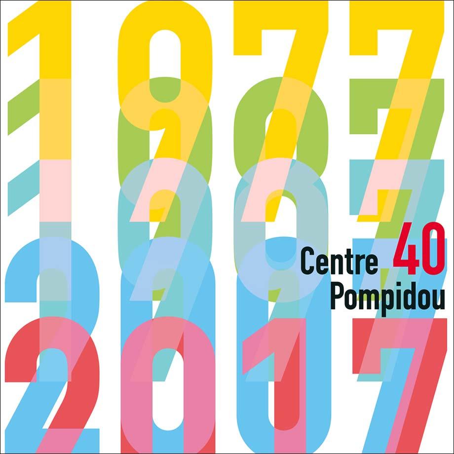 40 ans d'originalité, ça se fête ! Happy Birthday Beaubourg