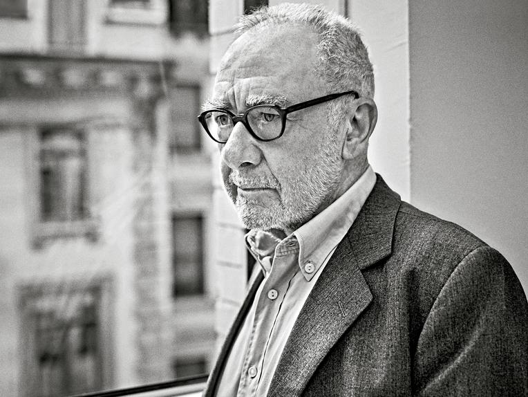 Gerhard Richter à New York | Credits : MARIO SORRENTI, le WSJ Magazine