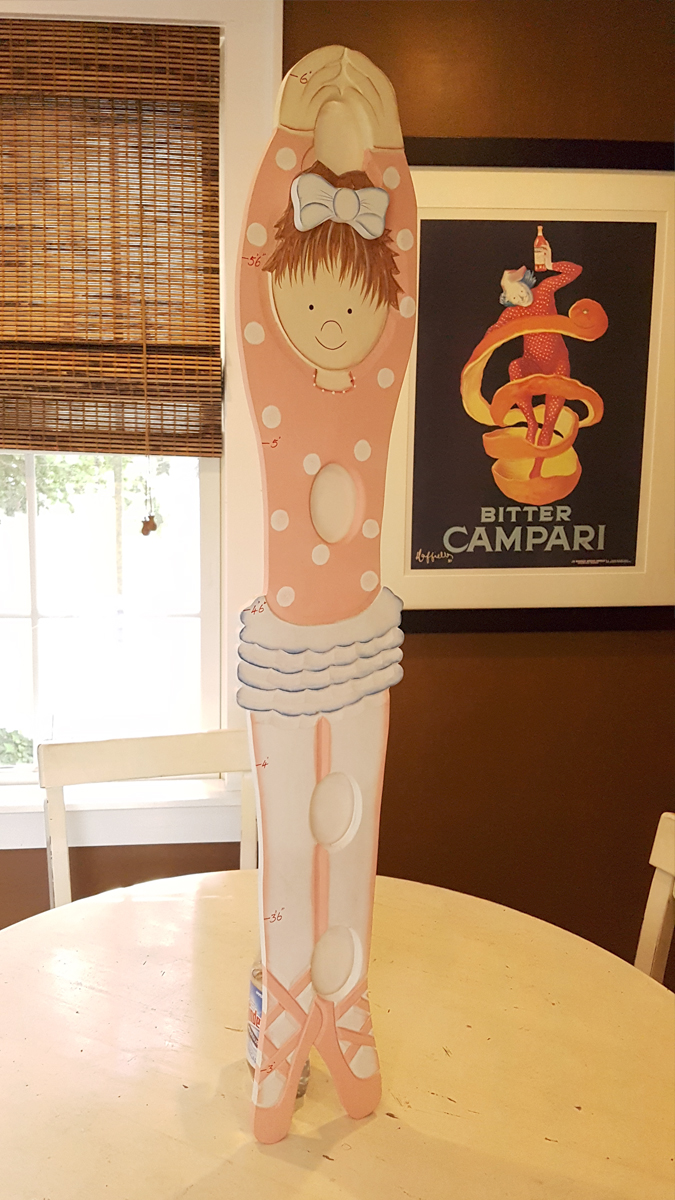 - Girls Picture Frame Growth Chart