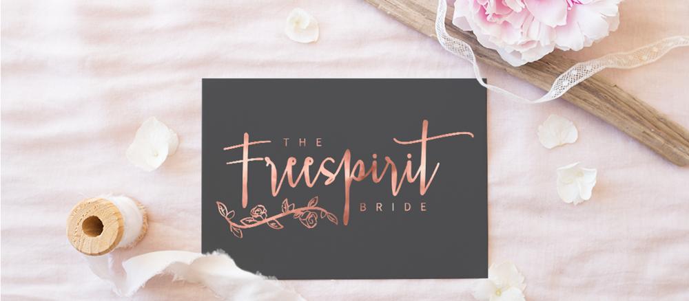 The Freespirit Bride - Brand Design and Styling by Wonderland Graphic Design