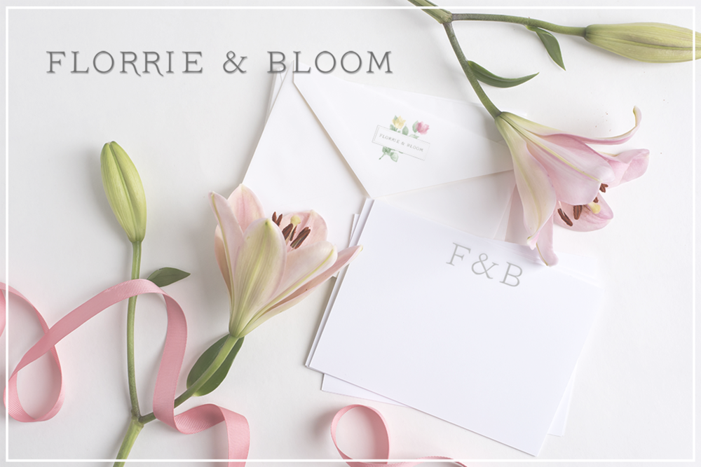 Florrie & Bloom - Wedding Florists - Brand Design and Styling by Wonderland Graphic Design