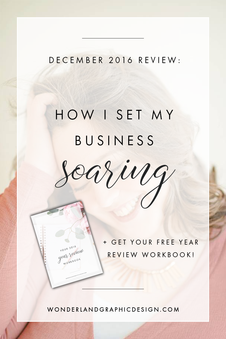 How I achieved success in my business in 2016 as a female entrepreneur, business owner, woman in business. Set goals, grew my social media followers, social media marketing, built an email list, blogging advice, business tips, business advice, small biz, mindset, built confidence, pinterest, facebook, instagram, twitter, grew visibility.