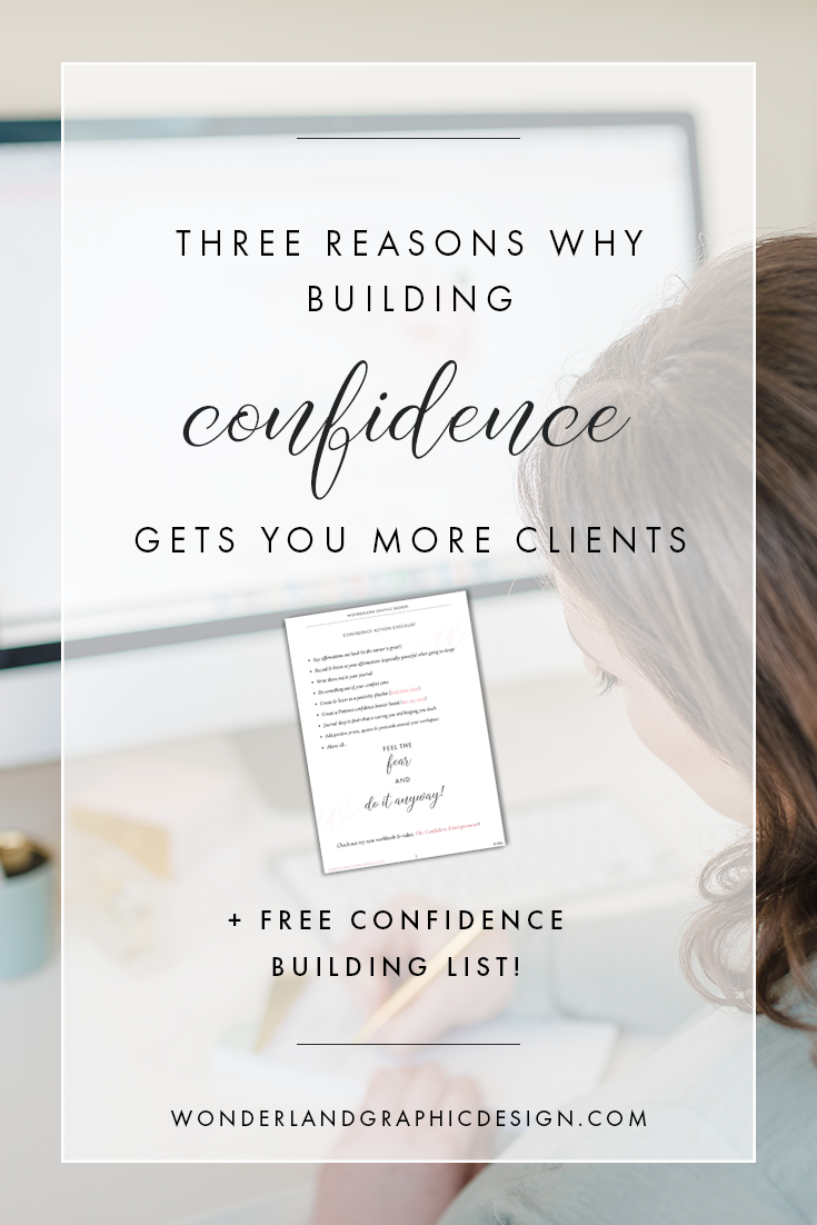 Get more clients and more sales by building your confidence as a female entrepreneur, blogger, creative and business owner. Learn to be authentic, build your self-belief, stop feeling like a fraud and imposter syndrome. Get more confident and positive in yourself & your business strategy, social media marketing strategy and selling. Business help, business advice, business resources. Free checklist.