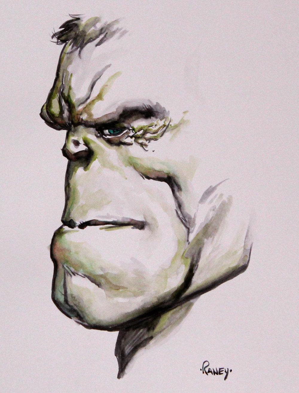 Hulk by Tom Rainey
