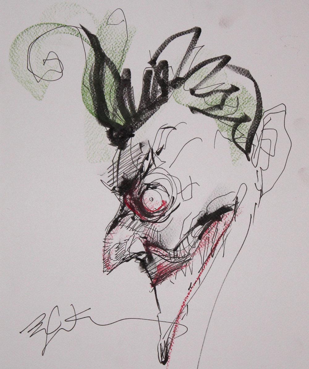 Joker by Bill Sienkiewicz