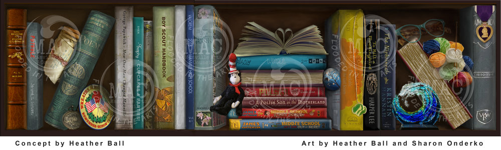 Manville Public Library Concept Art