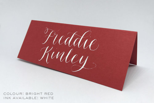 place cards for weddings events letters by julia