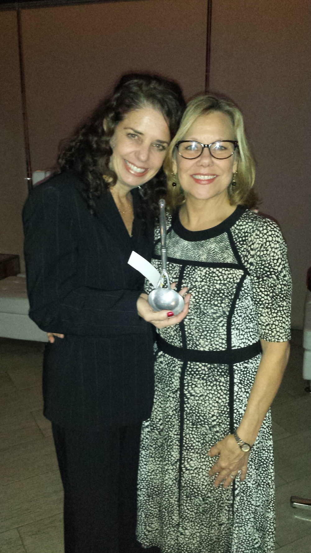 While with LevLane: With Sarah Jolles, Executive Director of Sales & Marketing for client Rydal Park, and Philadelphia PRSA Pepperpot Award