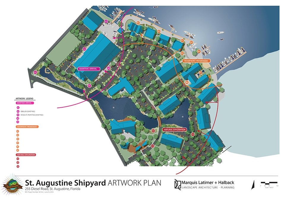 St. Augustine Shipyard Art Program