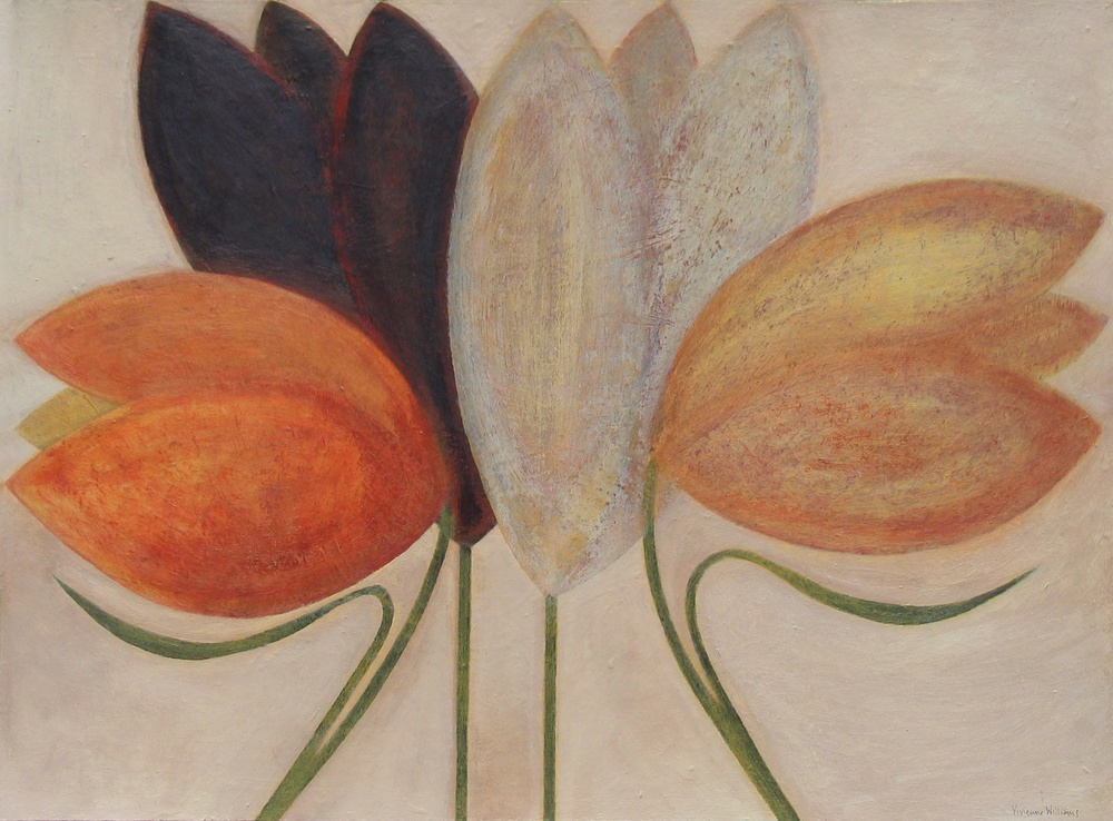 Summer Tulips, 46cm x 61cm, 2014