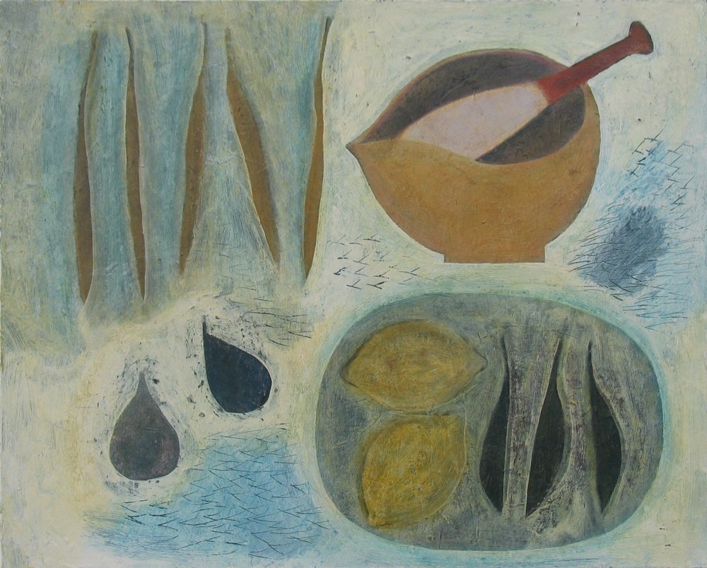 Still Life with Pestle and Mortar, 41cm x 51cm, 2010