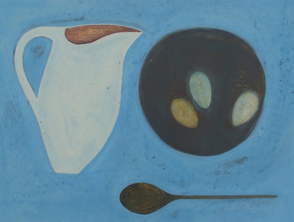 Still Life with Eggs, 46cm x 51cm, 2007