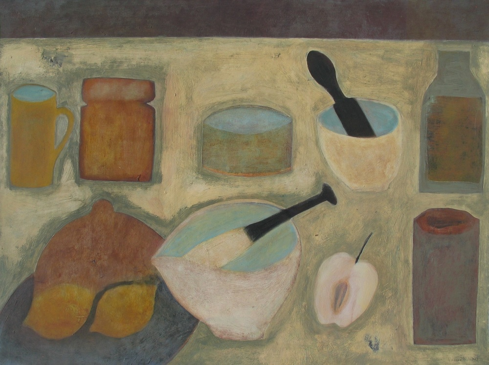 Cornish Kitchen, 46cm x 61cm, 2007