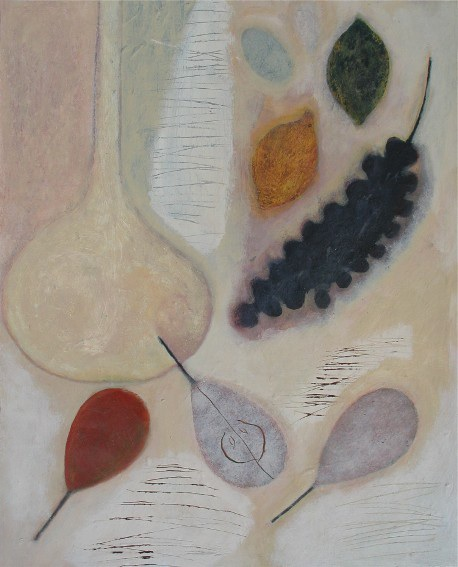 Pale Flask with Fruit, 51cm x 41cm, 2006