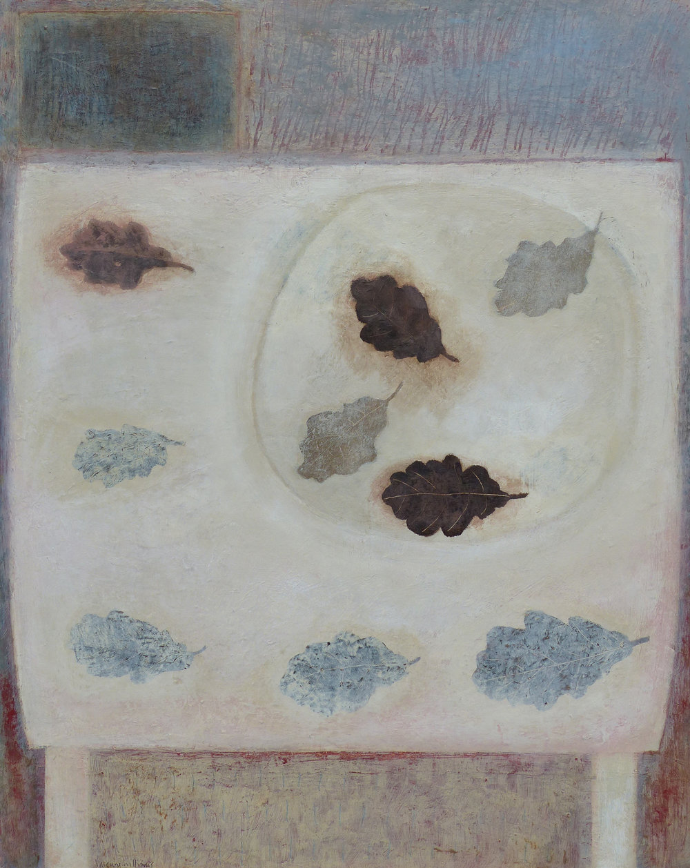 Winter Leaves, 51cm x 41cm, 2016