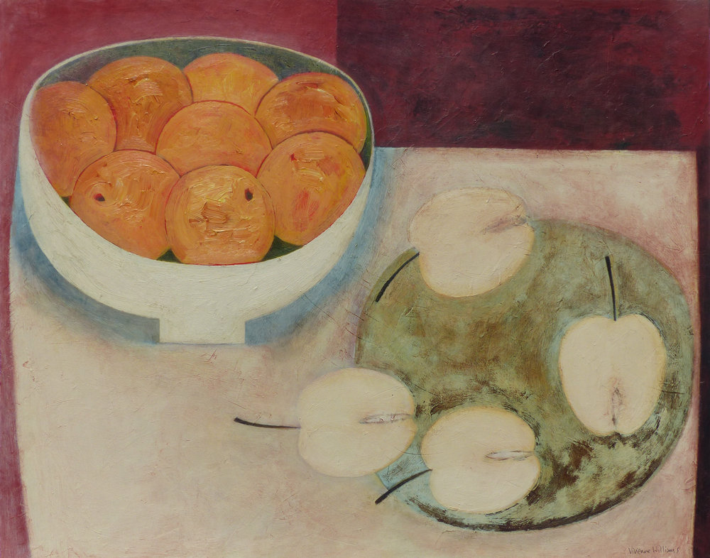 Clementines and Apples, 41cm x 51cm, 2016