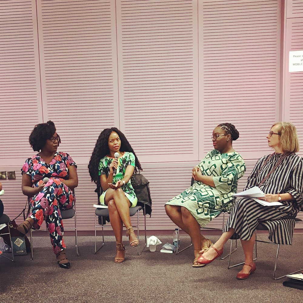 All My Ladies. Speaking at University of London SOAS, Panel moderated by fellow South African Dr. Carli Coetzee